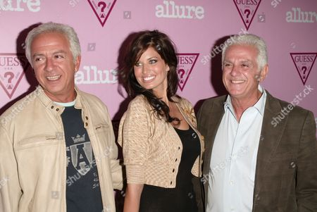 Paul Marciano , Bre Condon and Maurice Marciano
