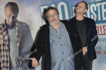 The director Jaco Van Dormael, Benoit Poelvoorde