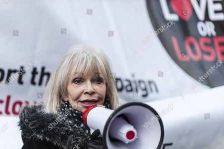Editorial photo of Save the BBC protest, London, Britain - 23 Nov 2015