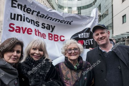 Editorial image of Save the BBC protest, London, Britain - 23 Nov 2015