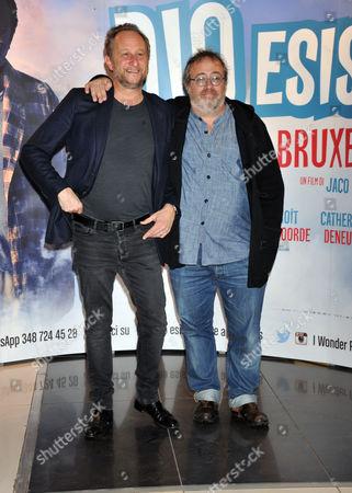 Jaco Van Dormael and Benoit Poelvoorde