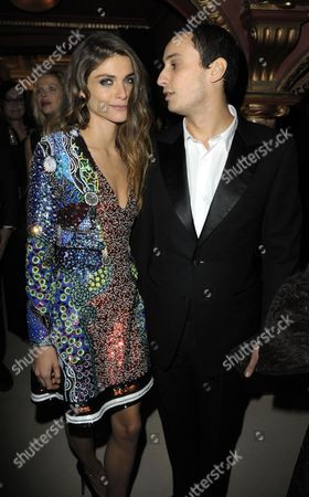 Stock Picture of Elisa Sednaoui and Alex Dellal
