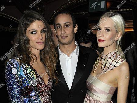 Elisa Sednaoui, Alex Dellal and Poppy Delevingne