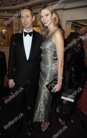Nick Knight and Karlie Kloss