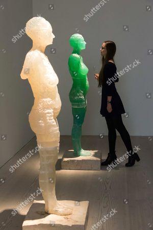 'Homo Bulla' sculpture by Maria Kulikovska