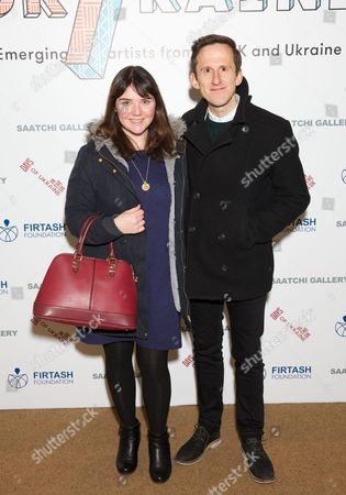 Editorial picture of UK/raine exhibition event at the Saatchi Gallery, London, Britain - 23 Nov 2015