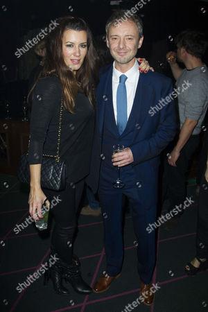 Kate Magowan and John Simm (Lenny)