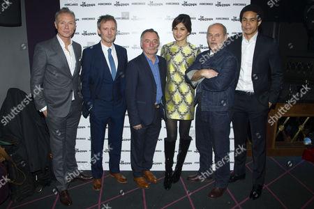 Gary Kemp (Teddy), John Simm (Lenny), Ron Cook (Max), Gemma Chan (Ruth), Keith Allen (Sam) and John Macmillan (Joey)