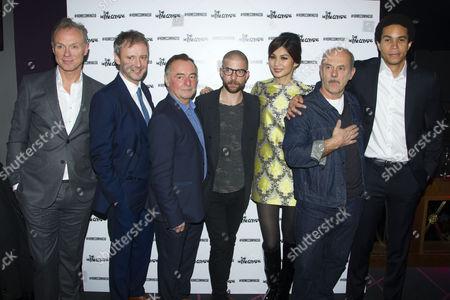 Gary Kemp (Teddy), John Simm (Lenny), Ron Cook (Max), Jamie Lloyd (Director), Gemma Chan (Ruth), Keith Allen (Sam) and John Macmillan (Joey)
