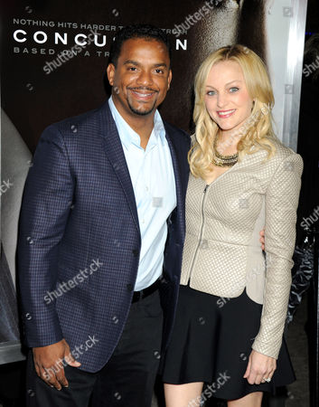 Alfonso Ribeiro and wife Angela Unkrich
