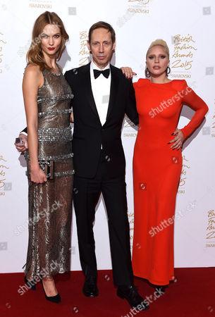 Karlie Kloss, Nick Knight and Lady Gaga