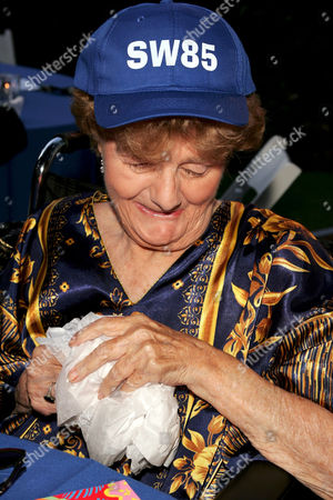 Editorial picture of SHELLEY WINTERS 85TH BIRTHDAY PARTY, LOS ANGELES, AMERICA - 18 AUG 2005
