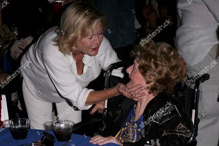 Carol Lynley and Shelley Winters