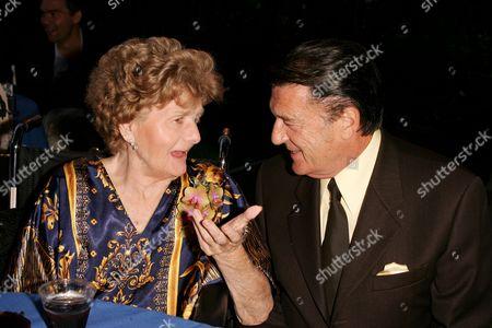 Shelley Winters and her ICM Agent Jack Gilardi