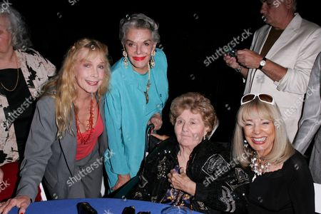 Stella Stevens, Jane Russell, Shelley Winters and Terry Moore