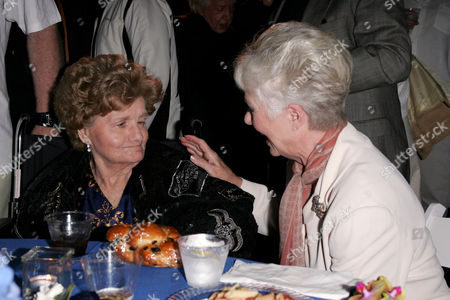 Shelley Winters and Shirley Jones