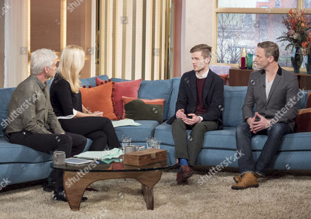 Phillip Schofield, Holly Willoughby, George Lawlor and Martin Daubney