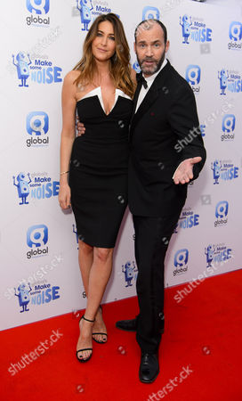 Lisa Snowdon and Johnny Vaughan