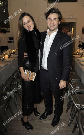 Maria Baibakova and Adrien Faure