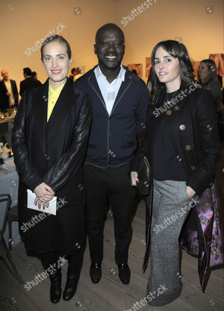 Editorial picture of Monique Pean Celebrates Wallpaper Design Award With David Adjaye and Hikari Yokoyama, London, Britain - 24 Nov 2015