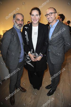 Editorial photo of Monique Pean Celebrates Wallpaper Design Award With David Adjaye and Hikari Yokoyama, London, Britain - 24 Nov 2015