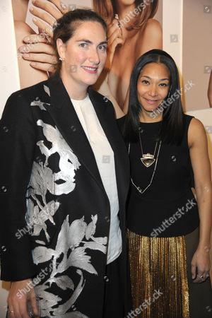Rebecca Guinness and Monique Pean