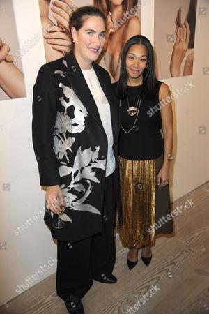 Stock Image of Rebecca Guinness and Monique Pean