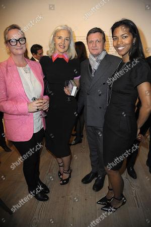 Ruth Chapman, Tom Chapman and Ashley Shaw-Scott Adjaye