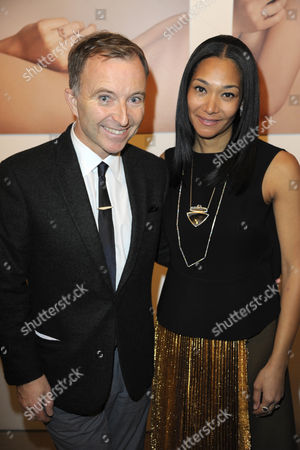Tony Chambers and Monique Pean