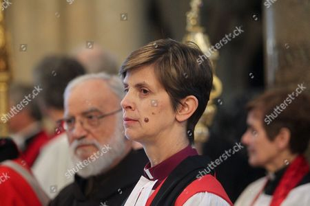 The Rt Reverend Libby Lane, Bishop of Stockport - first female Bishop.