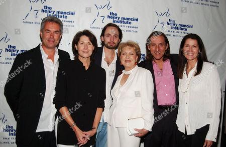 Gregg Field, Felice, Christopher, Ginny, Chris and Monica Mancini