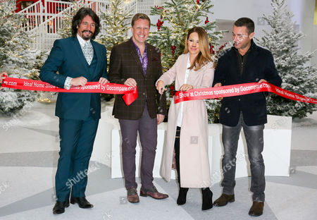 Laurence Llewelyn-Bowen, Olly Smith, Katie Piper and Gino D'Acampo