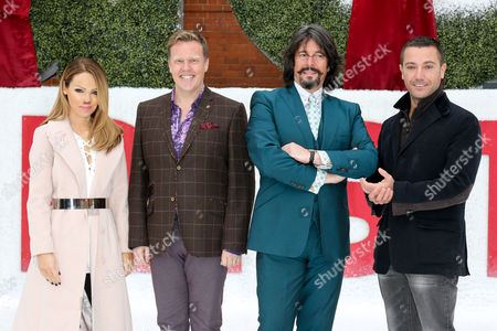 Katie Piper, Olly Smith, Laurence Llewelyn-Bowen and Gino D'Acampo