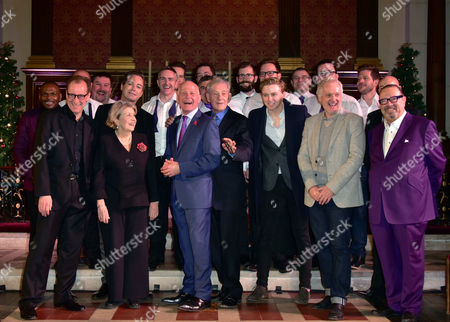 Anton Stephans, Stefan Bednarczyk, Anne Reid, Julian Clary, Michael Cashman, Sir Ian McKellen, Jack Lowden, Sean Mathias, Laurence Isaacson and The London Gay Men's Choir