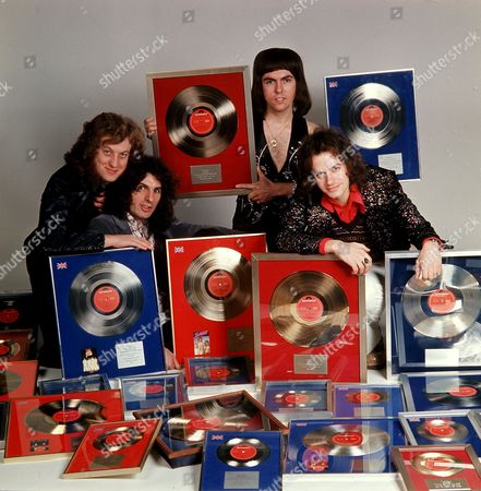 Stock Picture of Slade - Noddy Holder, Don Powell, Dave Hill and Jim Lea