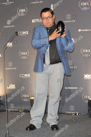Editorial picture of Fenix Iberoamerican Film Awards, Press Room, Mexico City, Mexico - 25 Nov 2015