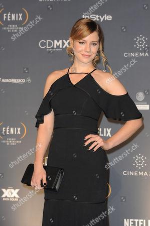 Leandra Leal at Fenix Iberoamerican Film Awards Photocall at Teatro de la Ciudad
