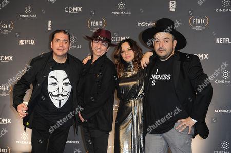 Editorial photo of Fenix Iberoamerican Film Awards, Press Room, Mexico City, Mexico - 25 Nov 2015