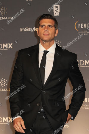 Christian Meier at Fenix Iberoamerican Film Awards Photocall at Teatro de la Ciudad