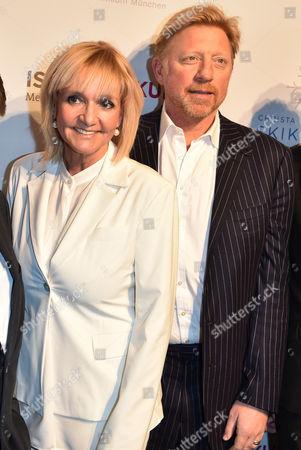 Boris Becker and Christa Kinshofer