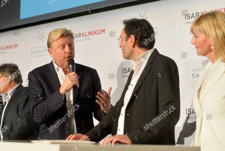 Boris Becker, Christa Kinshofer and Dr. Erich Rembeck