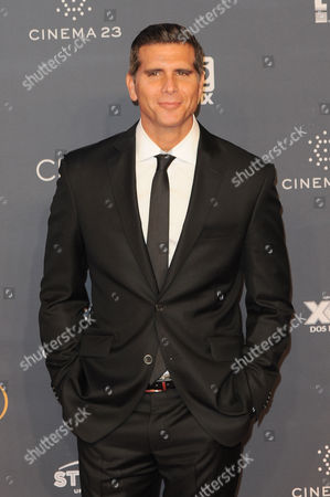 Christian Meier arrives at The Fenix Iberoamerican Film Awards at Teatro de la Ciudad