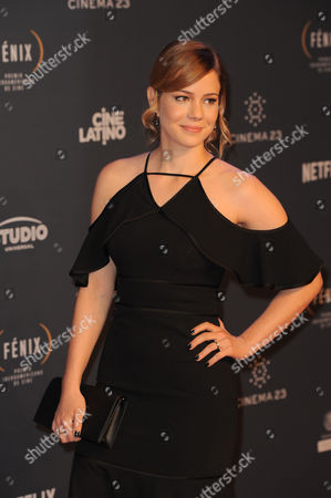 Editorial image of Fenix Iberoamerican Film Awards, Arrivals, Mexico City, Mexico - 25 Nov 2015