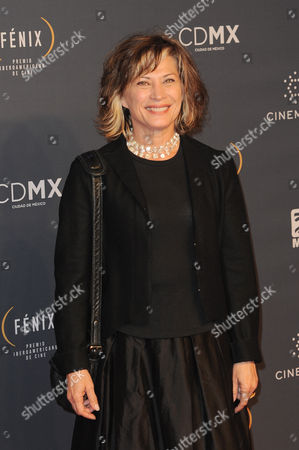 Patricia Bernal arrives at The Fenix Iberoamerican Film Awards at Teatro de la Ciudad