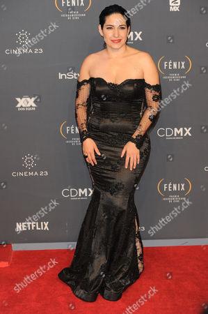 Tiare Scanda arrives at The Fenix Iberoamerican Film Awards at Teatro de la Ciudad