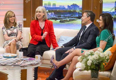 Kate Garraway, Sue Jameson (last day), Ben Shephard and Susanna Reid