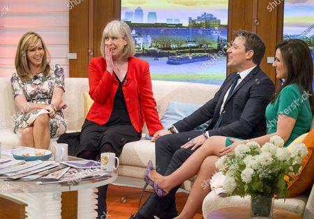 Editorial photo of 'Good Morning Britain' TV programme, London, Britain - 26 Nov 2015