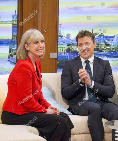 Stock Picture of Sue Jameson (last day), Ben Shephard