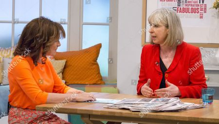 Editorial image of 'Lorraine' TV Programme, London, Britain - 26 Nov 2015