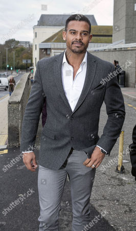 Editorial image of George Kay assault charge, Brighton Magistrates Court, Britain - 24 Nov 2015